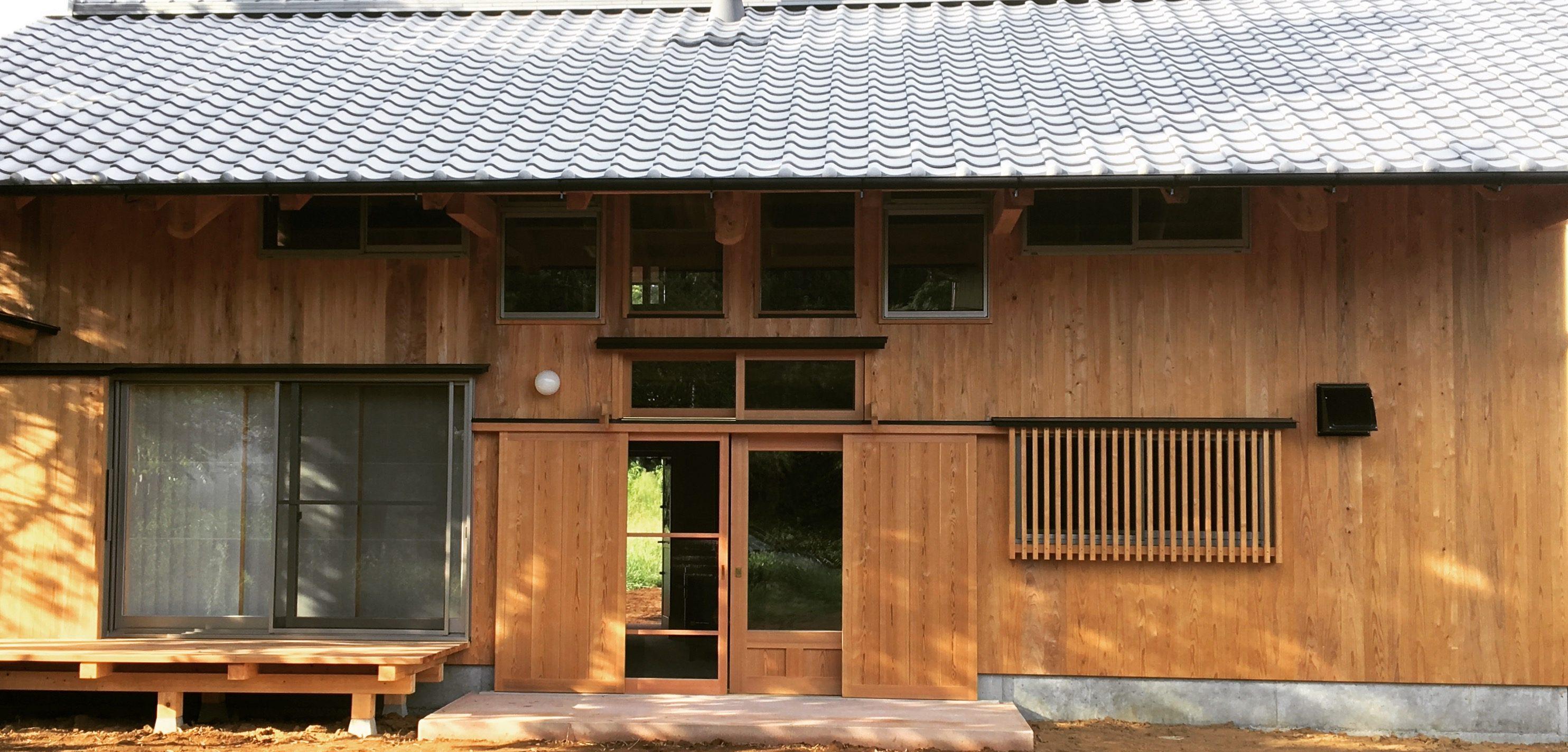 山武杉×板倉工法 木の家の新たな魅せ方