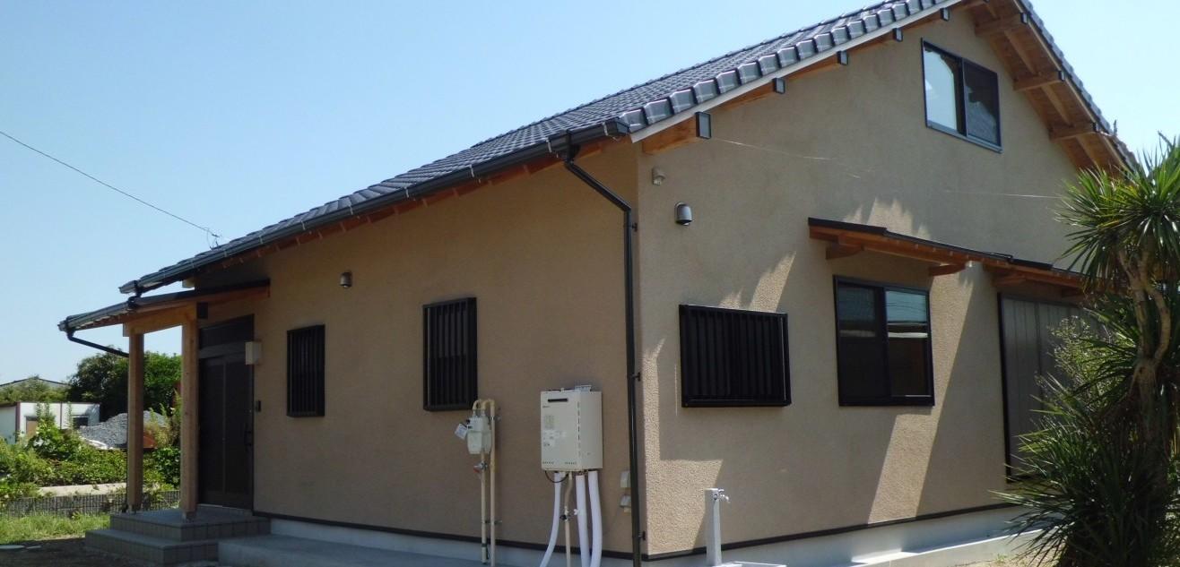 自然素材と国産材に囲まれた家 千葉県東金市 S邸