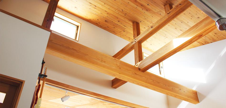 見た目のインパクトにも重点を。千葉県山武市 T邸新築工事