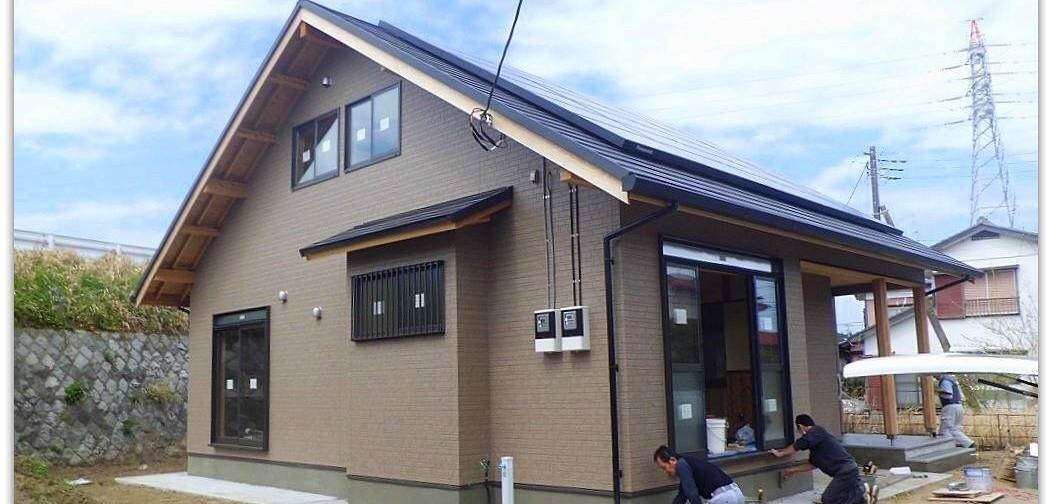 バリアフリー対応型国産材住宅 千葉県山武市 K邸新築工事