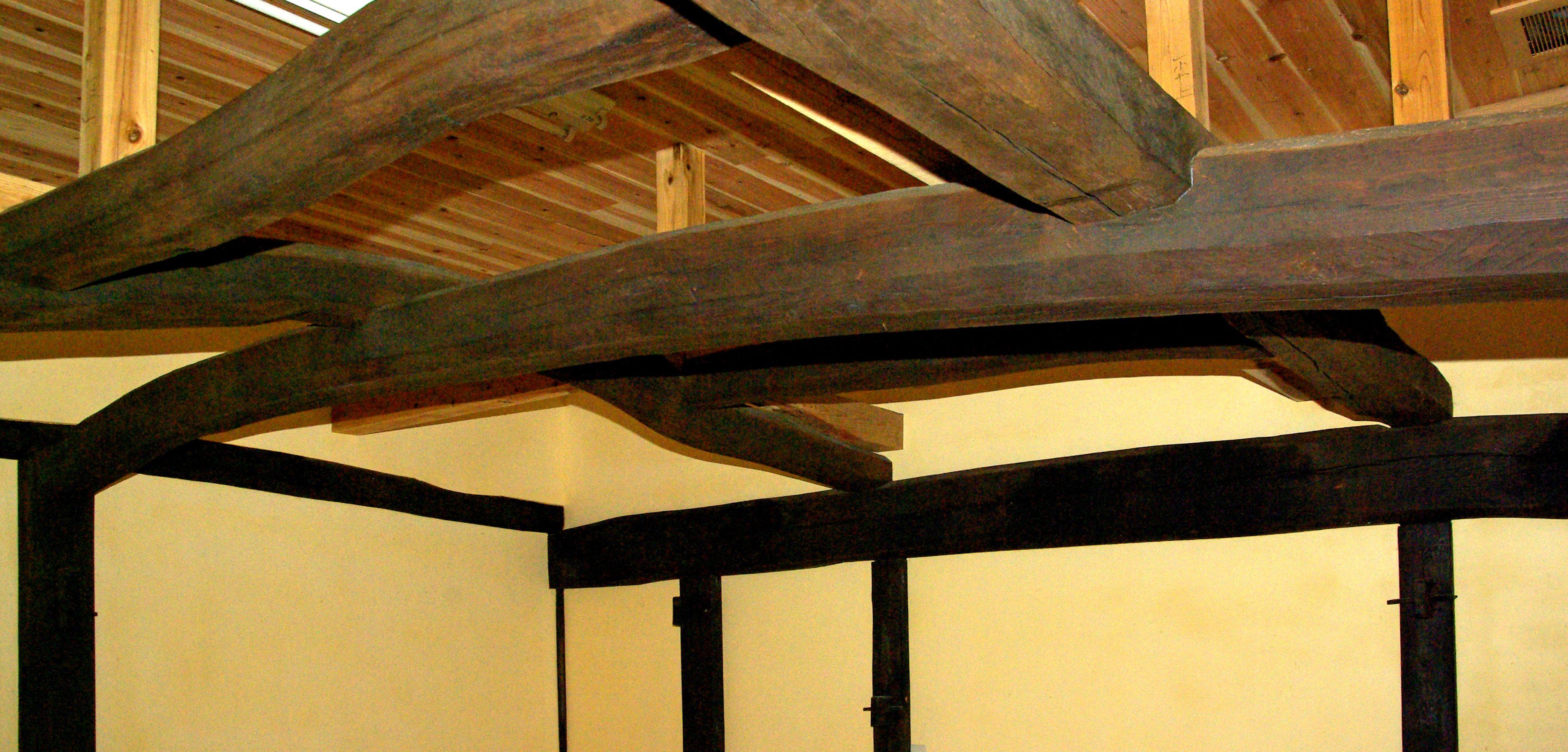 古民家リフォーム 古い小屋組みを活かしたフルリノベーション